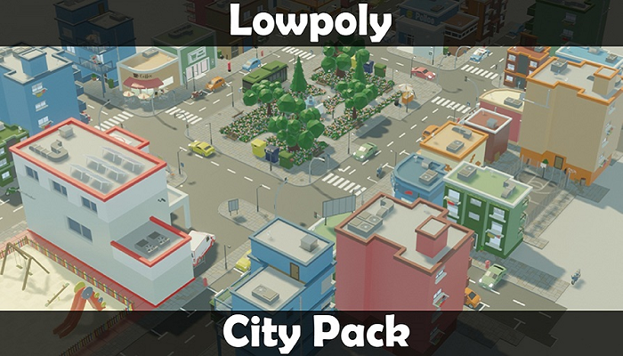 LowPoly City Pack – Exterior