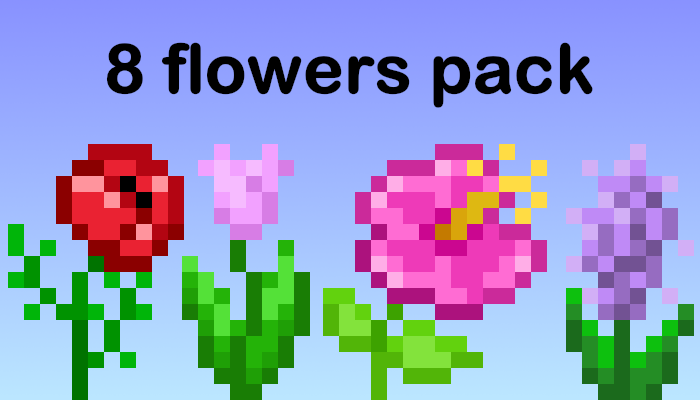 8 flowers [16px]