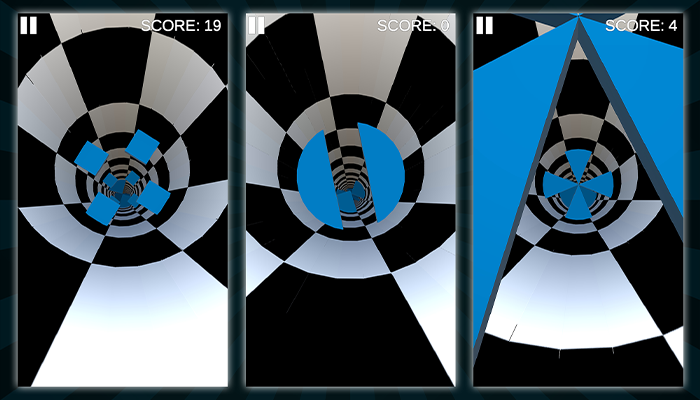 Endless Tunnel – Unity Game Source Code – Complete Project