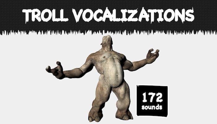 Troll Vocalizations