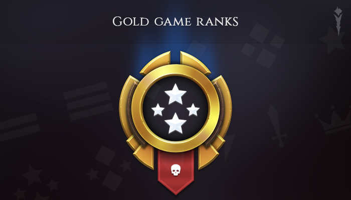 Gold Game Ranks