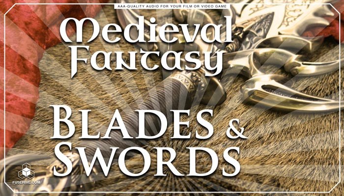 Swords Knives Daggers RPG Game Sound Effects Library – MEDIEVAL FANTASY WEAPONS SOUND PACK