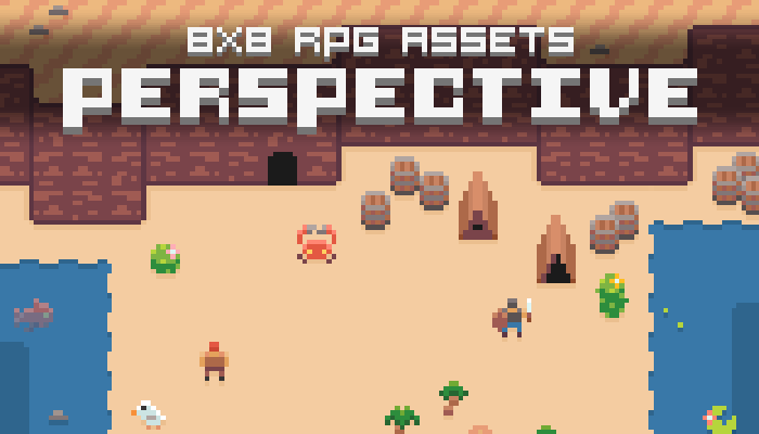 Perspective – RPG Top-Down (8×8)