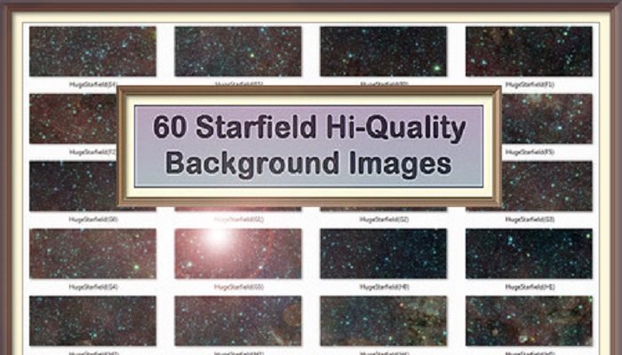 60 Starfield Backgrounds