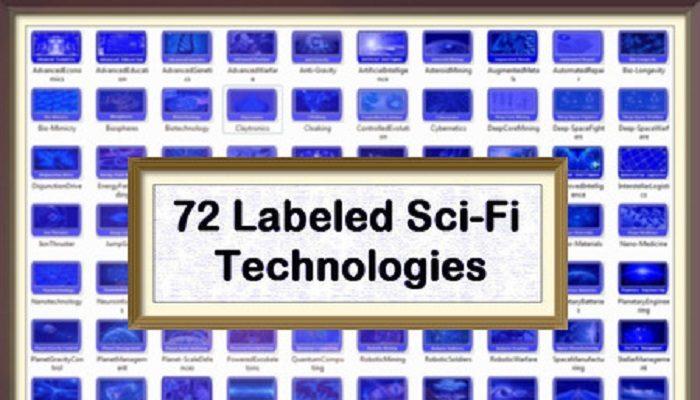 72 Science Fiction Technologies