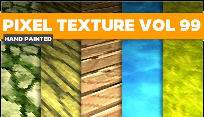Stylized Pixek Vol 99 – Hand Painted Textures