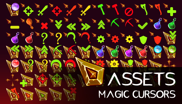 Assets: Magic Cursors Pack [+77]