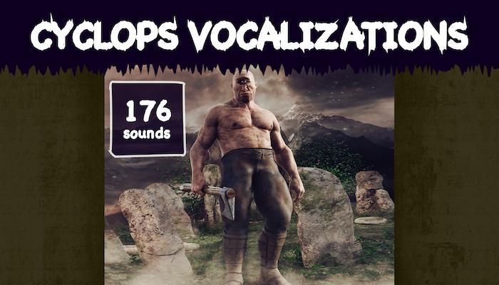 Cyclops Vocalizations