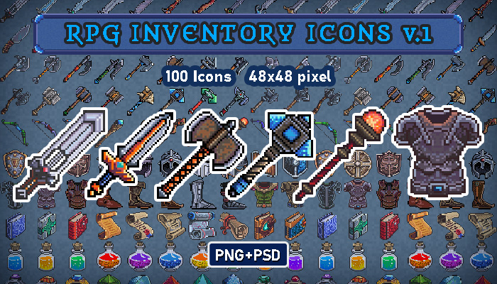 RPG Inventory Icons v.1