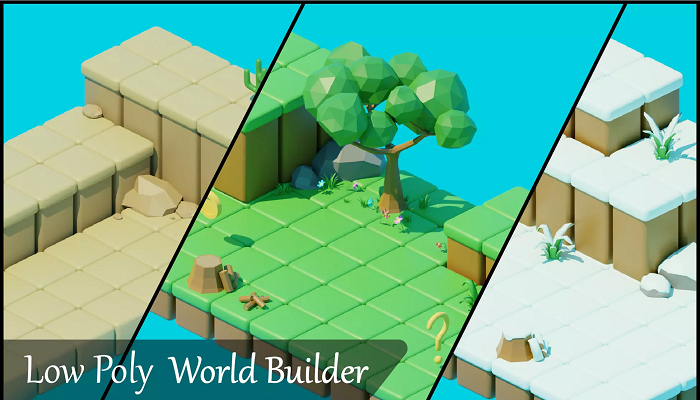 Low Poly World Building Pack