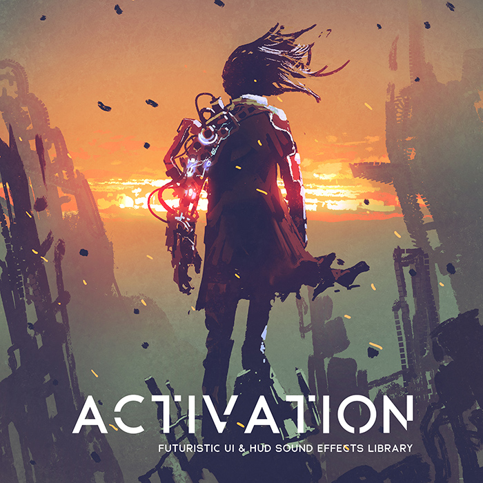 ACTIVATION – UI & HUD sound effects library