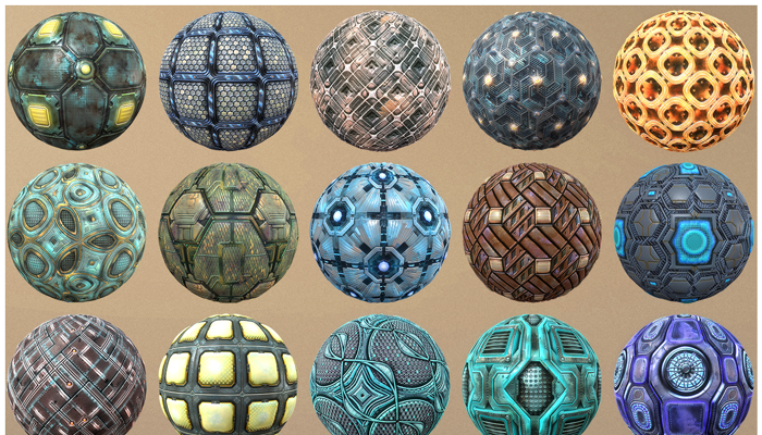 Sci-fi Textures Starter Pack