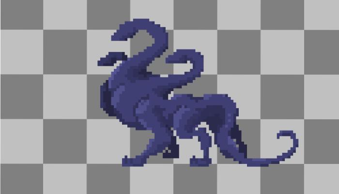Hydra Idle Animation