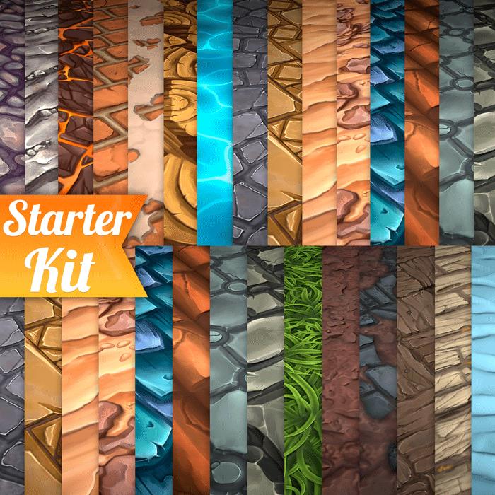 Hand Painted Textures Starter Kit Texture