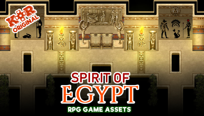 Spirit of Egypt RPG Tileset