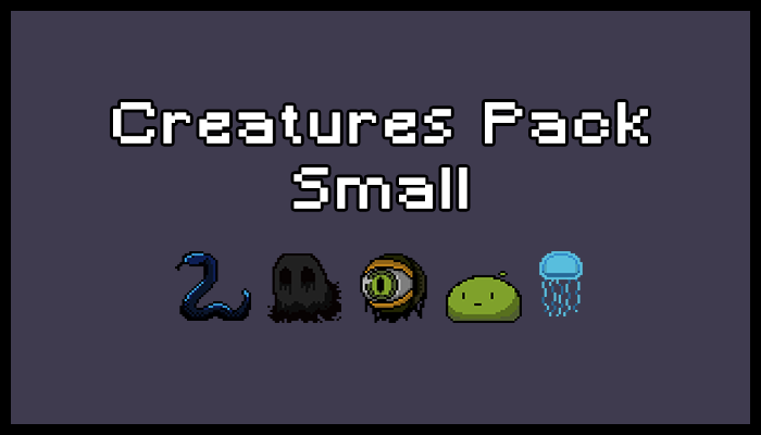 Creatures Pack – Small