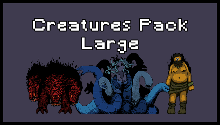 Creatures Pack – Large
