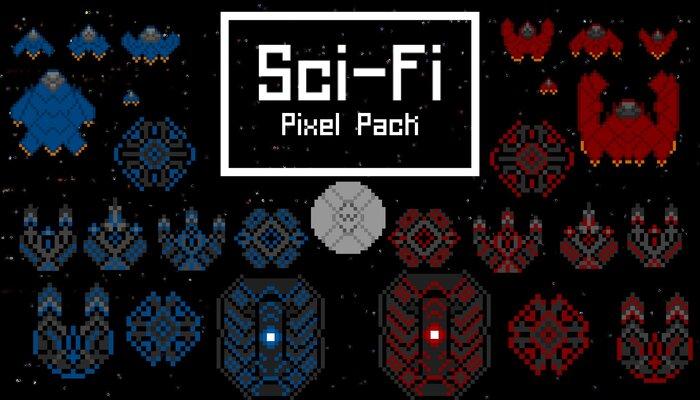 Scifi Assets| 2D Pixel Art Pack
