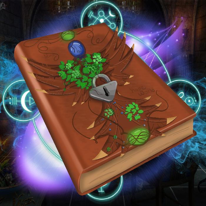 Magic RPG book