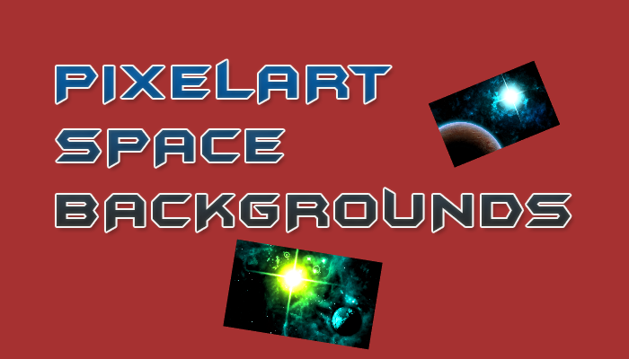 Pixelart Space Backgrounds