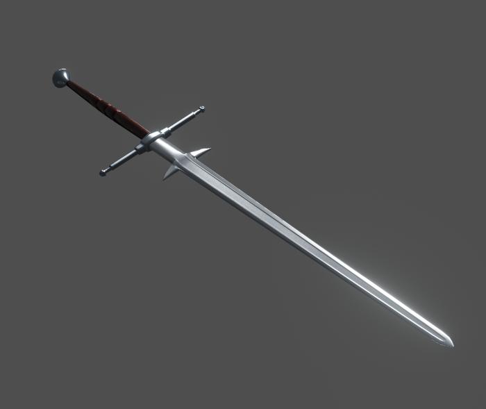 Medieval great sword – Zweihander