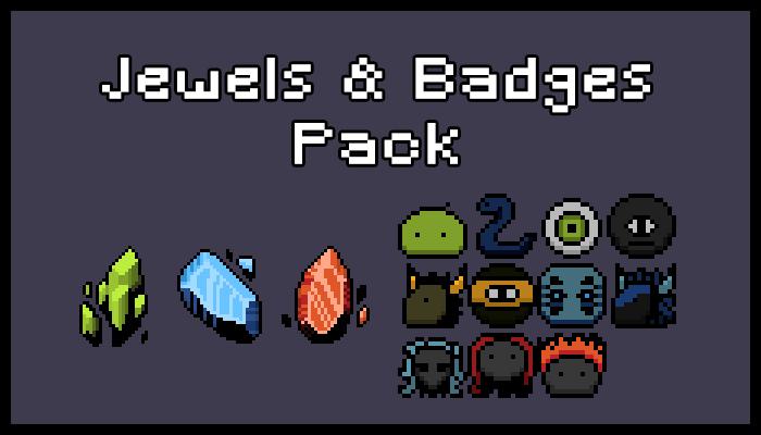 Jewels & Badges Pack