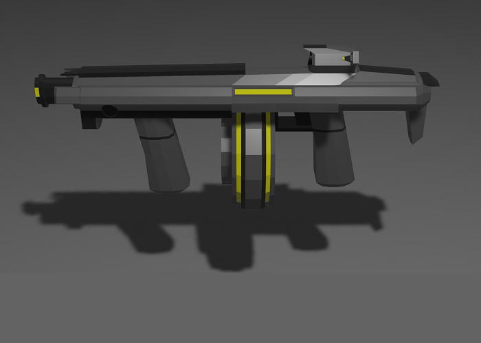 Low-Poly Carbine