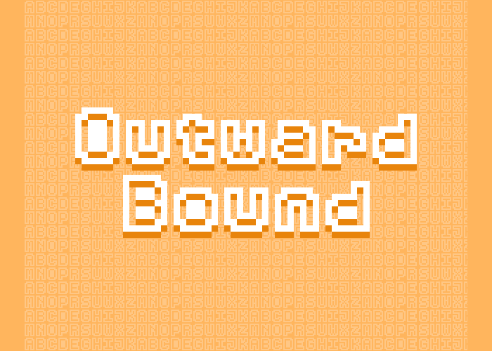 Outward Bound – Pixel Font (7×9)