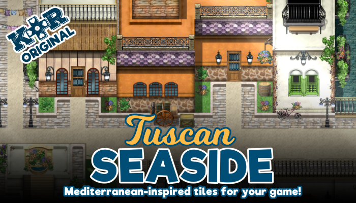 Tuscan Seaside RPG Tileset