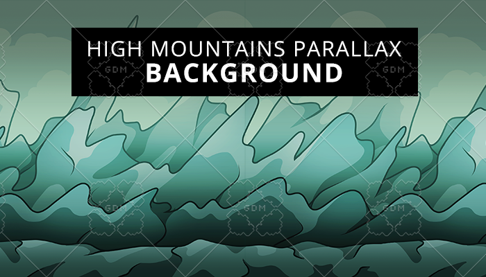 High Mountains Parallax Background