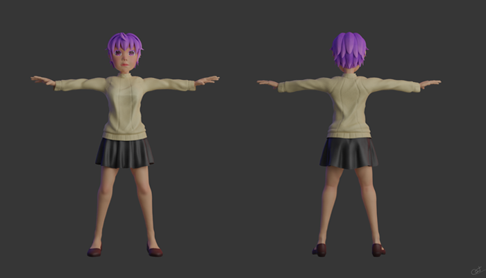 3D Character 06