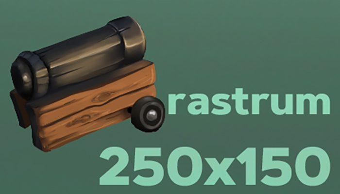 Artillery gun 2D