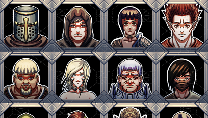 RPG Portraits Pack