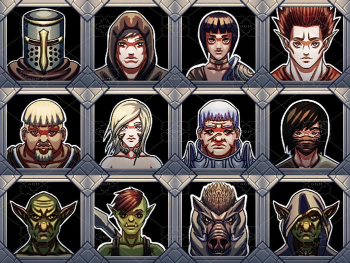 RPG Portraits Pack