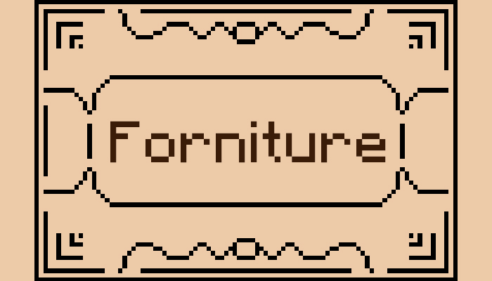 Forniture!