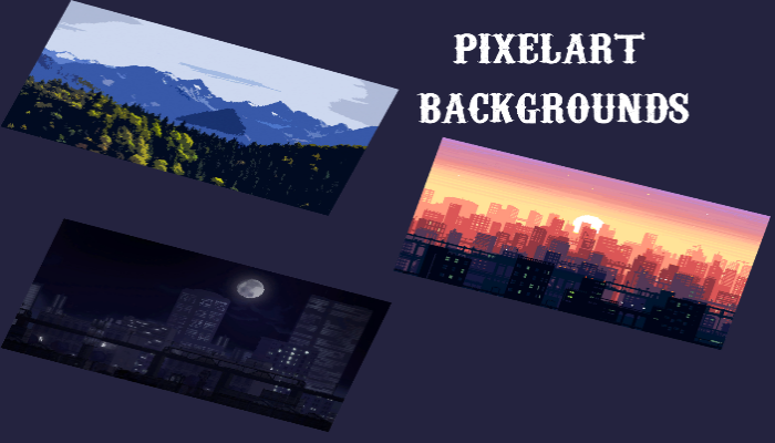Pixelart Backgrounds