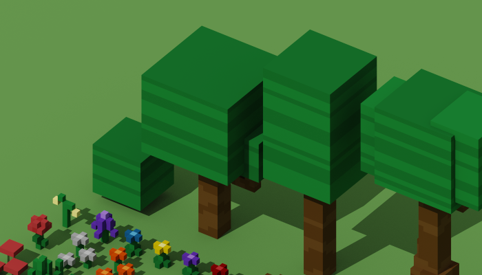 Voxel Foliage Pack