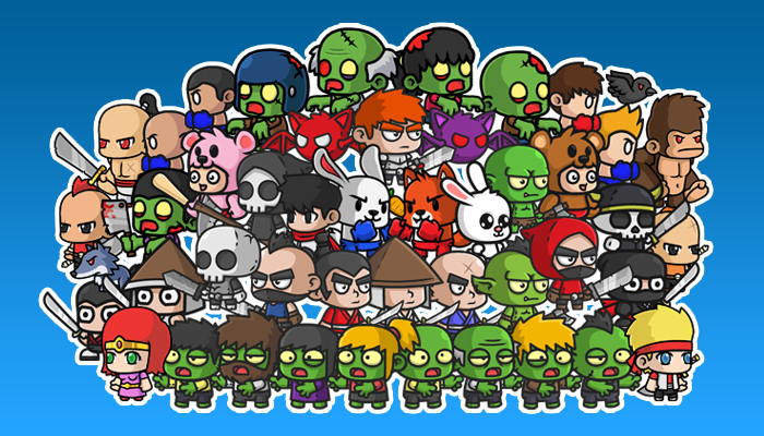 Segel 2D Characters Bundle