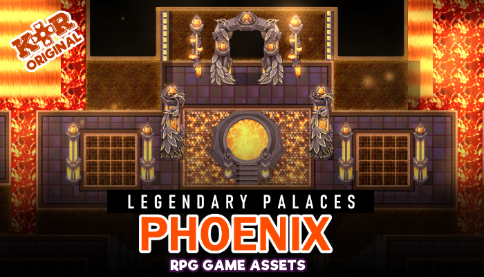 Legendary Palaces ~ Phoenix Tileset for RPGs