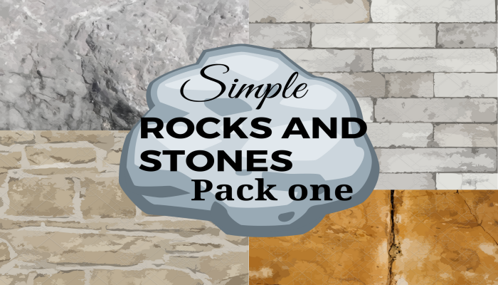 Simple Rocks and Stones Texture Pack 1