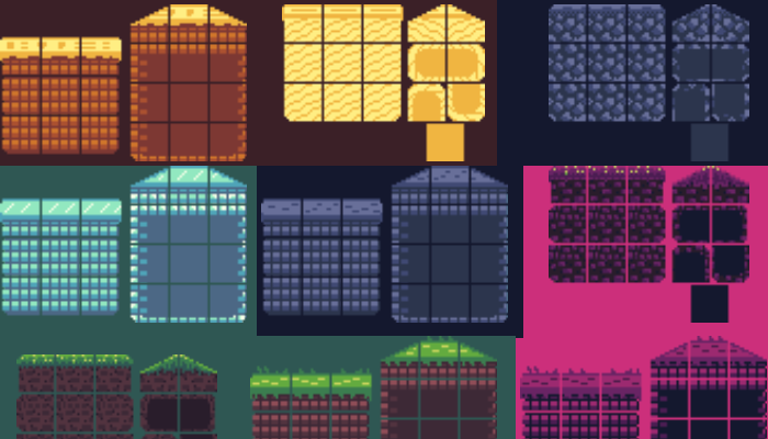 Minimalistic TileSets 16×16