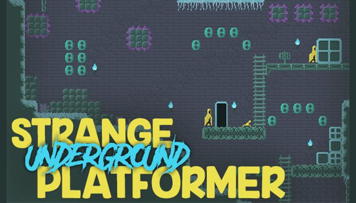 Strange underground platformer