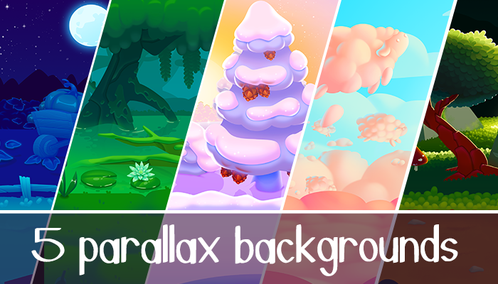 Parallax 2D Background Pack