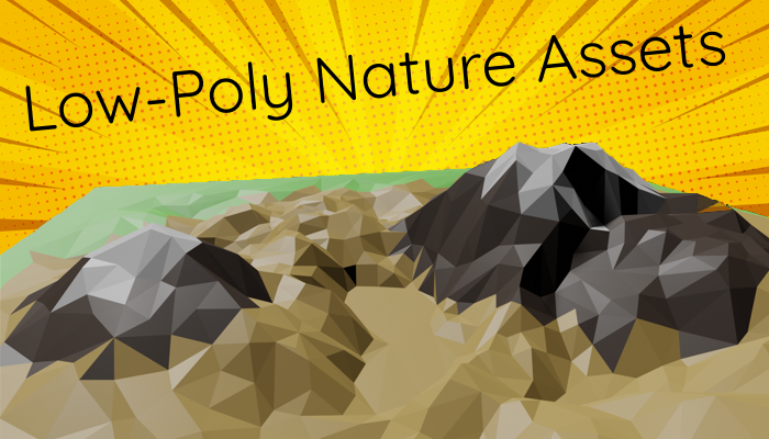 Low Poly Nature Asset Kit – Clouds, Trees, Water, Landscapes