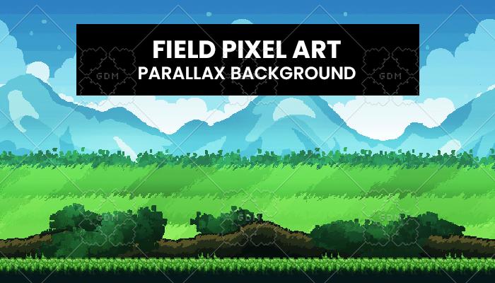 Field PixelArt Background