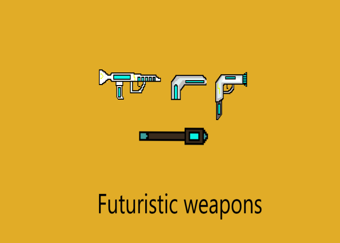 Cyber weapons/ Futuristic weapons