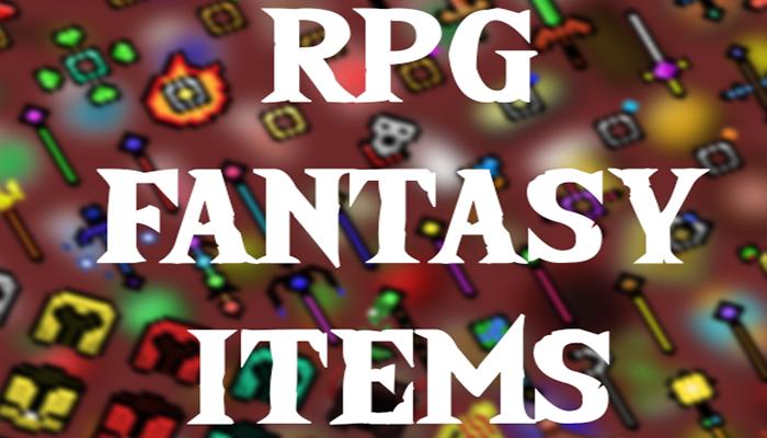 RPG Fantasy Items – 16×16