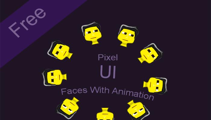 Animated Face Icon UI
