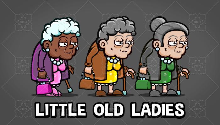 Little old ladies
