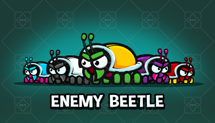 Enemy beetle